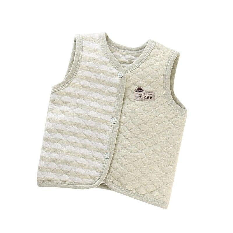 PPXX Children Baby Cotton Vest Waistcoat Kids Vest Toddler Baby Vest for Boys Girls Clothes Jacket Sleeveless Coat Newborn 5