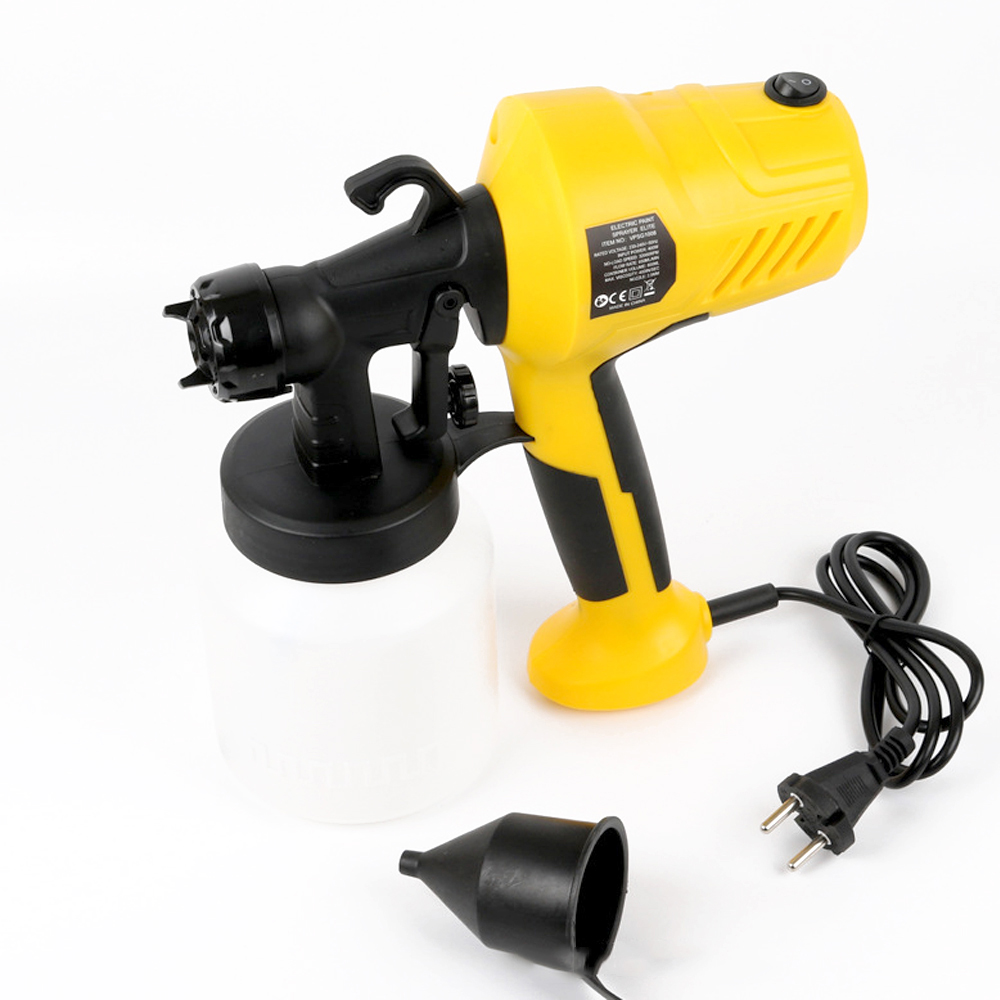 Removable High-pressure Electric Spray Machine Paint Sprayer for Painting Car Wood Furniture with Sprayer Cup