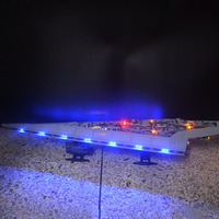 star plan lepinbricks remote control LED Light Set For 05028 Destroyer wars Compatible with 10221 Building blocks Toy Gifts