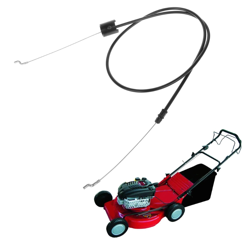 Lawn Mower Throttle Pull Engine Zone Control Cable With Z Shape Bend Garden Tool High Quality