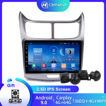 Car Radio For Chevrolet Sail 2015-2018 Multimedia DVD CD Stereo Player Android 9.0 Autoradio 9 Inch Carplay 360 Camera for Car image