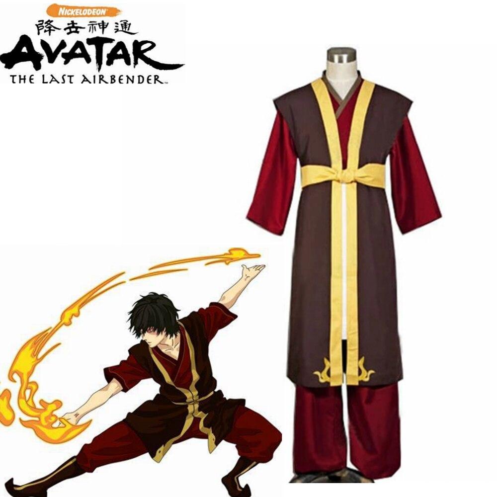 Avatar The Last Airbender Prince Zuko Cosplay Costume Anime Custom Made Uniform