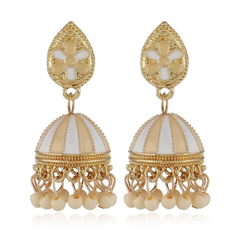 new drop oil earrings personality original  air balloon women statement trendy jewelry bohemian