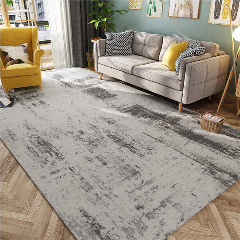 AOVOLL Light And Simple Minimalist Nordic American Abstract Pattern Carpet Carpets For The Modern Living Room Bedroom Rugs