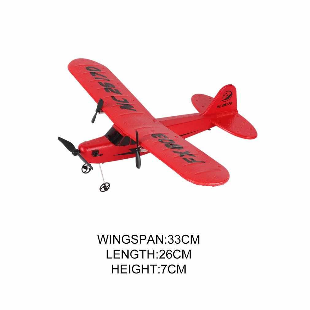 Panas! Ocday FX803 Remote Control RC Pesawat Glider Aerodone Mainan Anak Dewasa 150 M Busa Pesawat Merah Biru Baterai Drone
