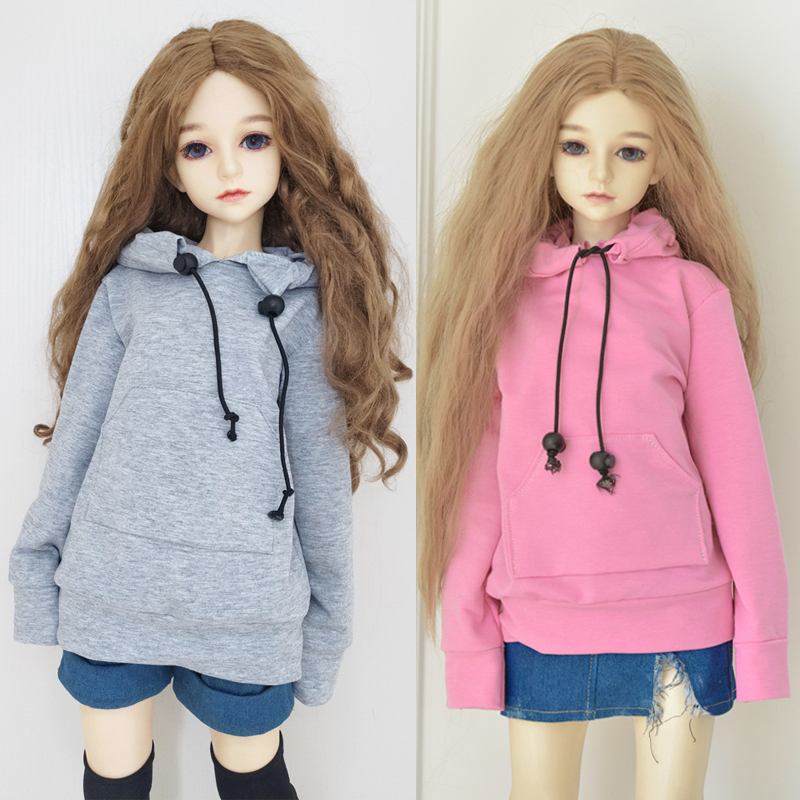 1/3 1/4 1 / 6bjd baby <font><b>clothes</b></font> ICY fashion doll <font><b>clothes</b></font> hoodie 30/45 / 60cm joint doll accessories children toy clothing image