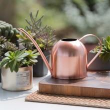 Flower-Plants Watering-Pot Stainless-Steel Garden Long-Mouth 500ml/1000ml