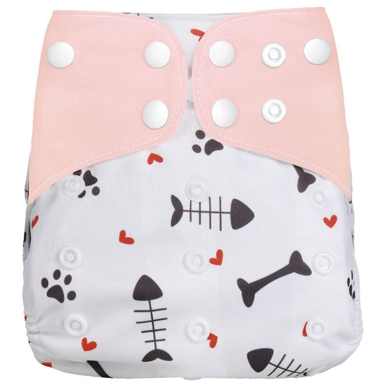 [Simfamily] 1 шт. многоразовые тканевые подгузники, регулируемые детские подгузники, моющиеся подгузники, подходят для 3-15 кг детские подгузники - Цвет: NO22