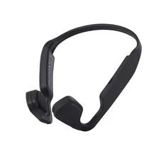 цена на S18 Wireless Headphones Bluetooth Bone Conduction Earphones Sports Running Headsets Handsfree for iPhone Samsung Ear-free