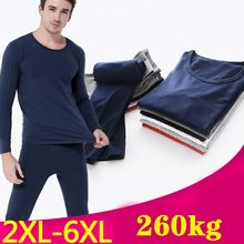 Long Johns Mens Set Thermal Underwear Men Largo Johns Underwear Sets Cotton Thin Oversized Clothes for Men Clothing Thermo