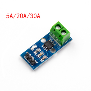 Image 1 - 1pcs ACS712 5A 20A 30A Range Hall Current Sensor Module ACS712 Module For Arduino 5A 20A 30A