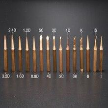 15 шт. бессвинцовые ПАЯЛЬНЫЕ НАКОНЕЧНИКИ 900M-T паяльник из чистой меди без свинца для паяльной станции пайки бит