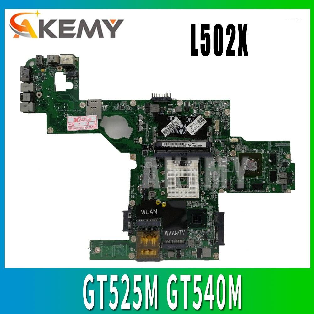 C47NF 0C47NF CN-0C47NF материнская плата для Dell XPS L502X материнская плата для ноутбука GT525M GT540M DAGM6CMB8D0 тестовая работа 100% оригинал