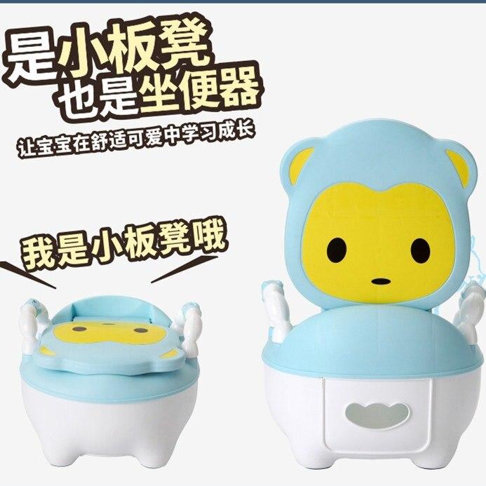 Chamber Pot Ladder Shit Pedestal Pan Baby Girls Zuo Bian Deng Boy Toilet Infant Universal Large Urinal Bucket Large Size
