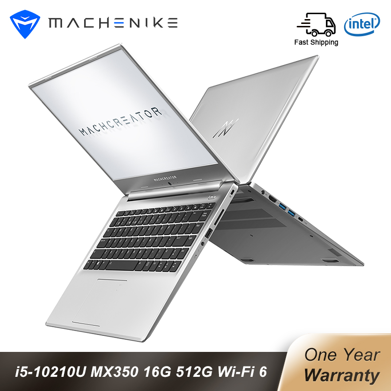 Machcreator-L 15 6 inch intel Laptop Core I5 10210U Win10 MX350 16G 512SSD 1920 1080 IPS Laptops with Backlit Keyboard