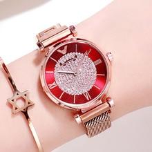 Women Watches 2019 Luxury Diamond Rose Gold Ladies Wrist