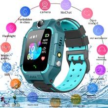 2021 Детские умные часы для детей SOS телефонный звонок Часы Smartwatch использовать sim-карты фото Водонепроницаемый IP67 детский подарок для IOS и Android