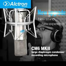 Alctron cm6 mkii конденсаторный микрофонный конденсатор микрофон