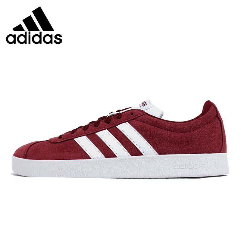 Original New Arrival  Adidas NEO VLCOURT Label Men's Skateboarding Shoes Sneakers