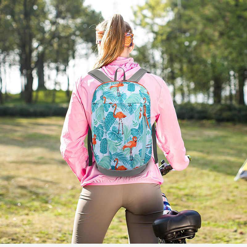 10L Ransel Olahraga Tahan Air Pria Ringan Hiking Ransel Wanita Perjalanan Tas Laptop Camping Ransel Sekolah untuk Remaja