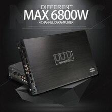 DC 12 В 6800 Вт макс 4 канала Автомобильные усилители звука класс A/B домашний сабвуфер аудио стерео бас динамик Автомобильные аудио усилители