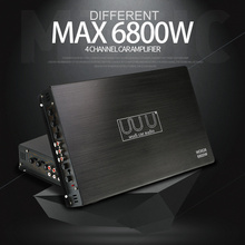 DC 12V 6800W Max 4 Channels Car Sound Amplifiers Class A/B H