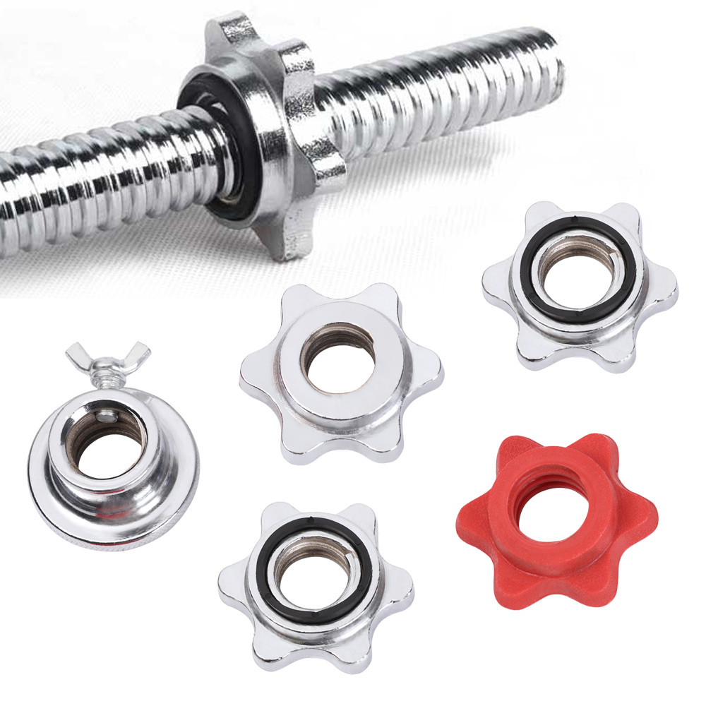 .Spinlock 1 Inch Standard 25mm Dumbbell Bar Connector Extender Linker Fitness.