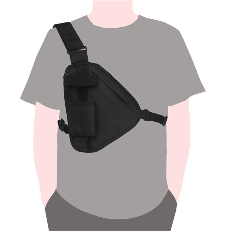 Adjustable Tactical Waist Pack Men Women Chest Rig Bag Hip Hop Streetwear Chest Pouch Crossbody Shoulder Bag