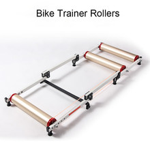 16-29 Inch Bike Rollen Indoor Stationaire Oefening Roller Trainer Riem Stand Al Legering Mtb Road Fiets Thuis Fietsen training(China)
