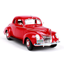 Maisto 1:18 1939 Ford Classic Car car alloy car model simulation car decoration collection gift toy Die casting model boy toy maisto 1 18 1939 ford classic car car alloy car model simulation car decoration collection gift toy die casting model boy toy