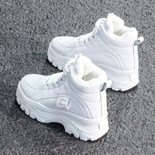 2020 Autumn Winter Increase Ankle Shoes Women Plus Velvet Sn