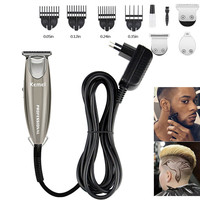 Kemei Design Electric Hair Clipper Gift Set Beard Trimmer Hair Cutting Machine Beard Barber Razor For Men Style Tools KM 701