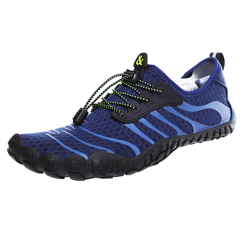 Men Women Outdoor Sports Hiking Shoes Lightweight Breathable Water Shoes Nonslip Trekking Upstream Seaside Aqua Shoes Quick Dry