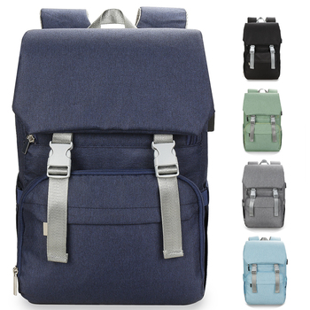 Mummy Waterproof USB Baby Diaper Bag Backpack Bags Organizer For Mummy Mother Maternity Baby Bag Stroller Backpack Diaper Bag diaper bag organizer backpack brand nappy bags baby travel maternity bags for mother baby stroller bag diaper handbag