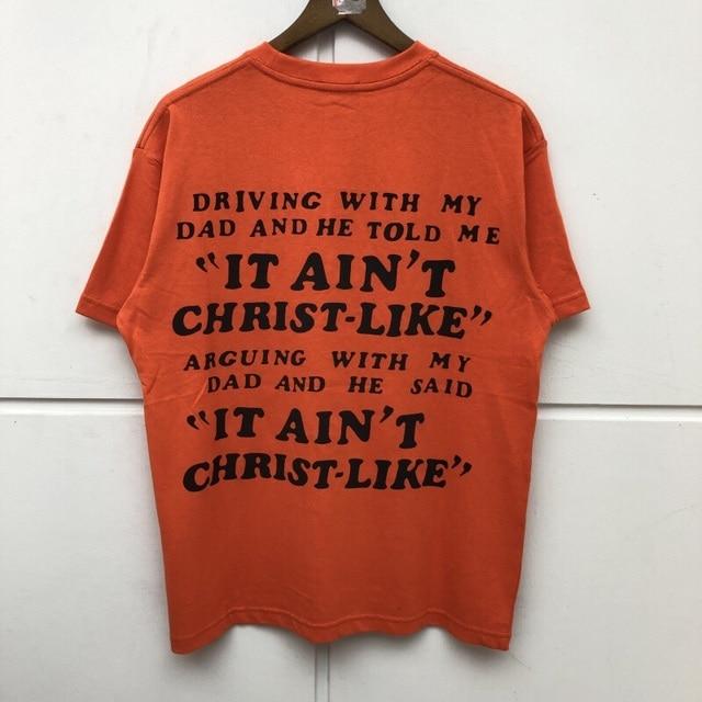 Kanye West Jesus Is King Washed Do Old T-shirt  2