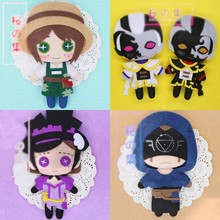 New Anime Game Identity V Lucky Guy Dancing Girl The Soul of Umbrella DIY Handmade Toy Keychain Bag Plush Doll Gifts 1pcs(China)
