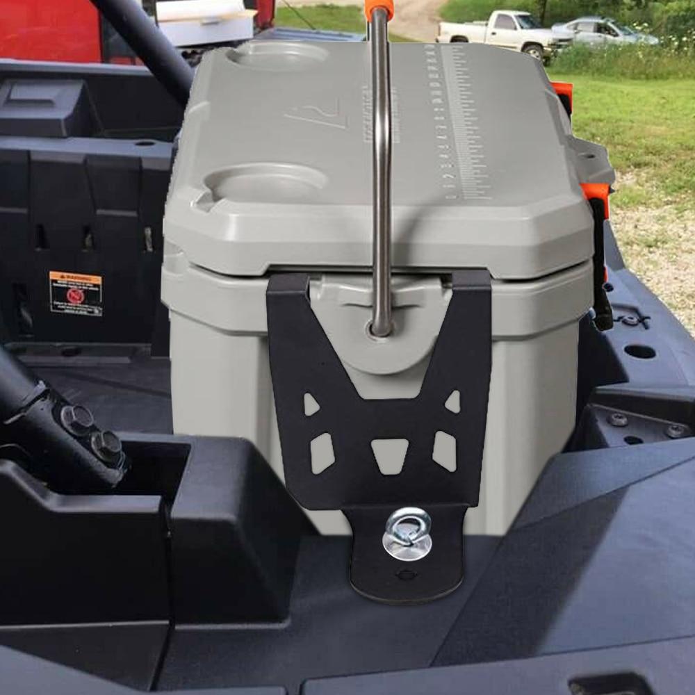 KEMIMOTO Off-road Cooler Fixed Bracket Mounts For Polaris RZR UTV Brackets Mount For Polaris Accessories Turbo S RZR Parts Black