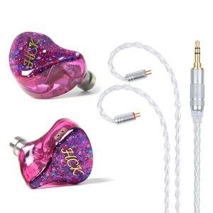 Image 5 - سماعة داخل الأذن من NICEHCK HK6/HK8 6/8BA مزودة بكابل صوت متوازن 6/8 قابلة للفصل سماعة رأس هاي فاي مخصصة
