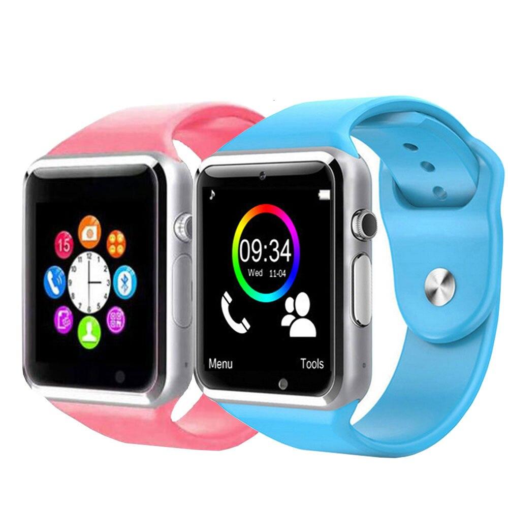 A1 Smart Watch For Children Kids Baby 2G Sim Card Dail Call Digital Watch Phone Touch Screen Waterproof Smart Clock Smartwatches