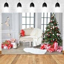 Yeele Рождественские фоны для фотосъемки в помещении с окнами