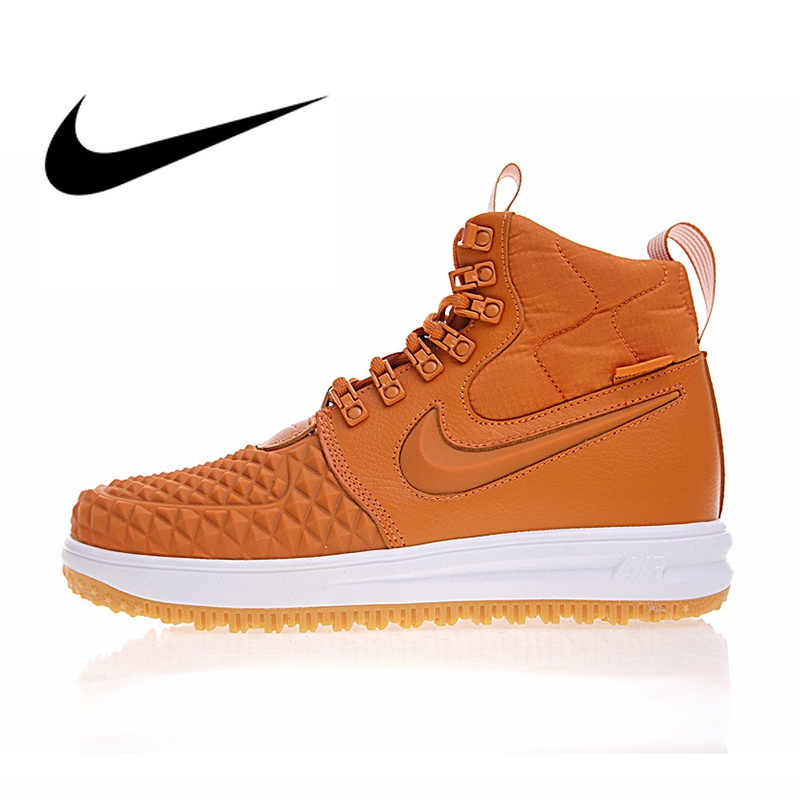 Original Nike Lunar Force 1 Duckboot 17 Men's Skateboard Shoes Comfortable Wear Resistant Encapsulated Outdoor Sneakers 922807