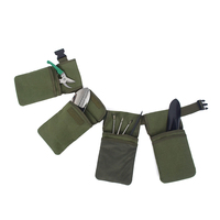 Multi Functional Belt Tool Pouch Electrician Waist 7 Pockets Replacement Utility Bag Holders Tool Organizers