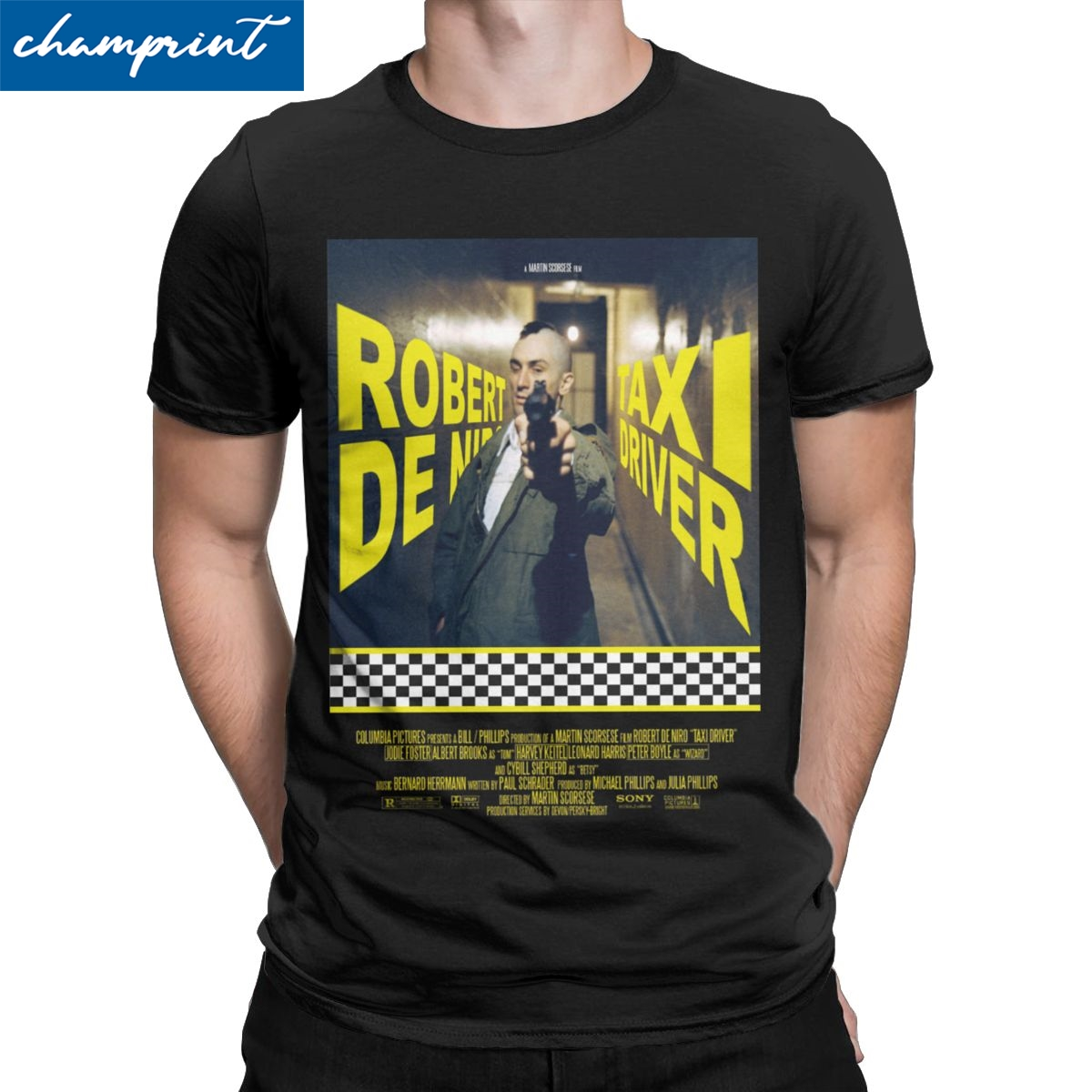 Taxi Driver T-shirt Travis Bickle Disturbia Retro Robert De Niro Hipster 70s 80