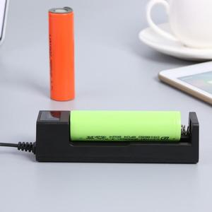 Image 4 - One slot 18650 Li ion Battery Charging Charger DC4.2V Portable Rechargeable USB Lithium Battery Charger