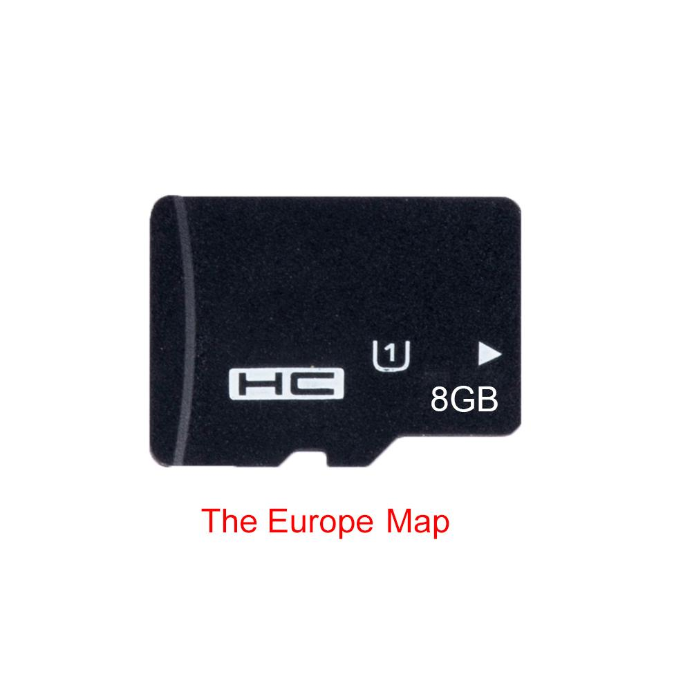 Universal 8G GPS Maps Navigation Card For Micro SD Class 10 TF The Latest Map For WinCE Car DVD Player Navigation EU