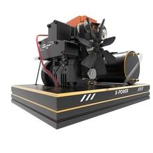 جديد Toyan أربعة السكتة الدماغية الميثانول FS S100A مجموعة المحرك مع قاعدة خزان الوقود بطارية بدء ESC الساخن رئيس الحرارة غطاء رأس خنق دفع
