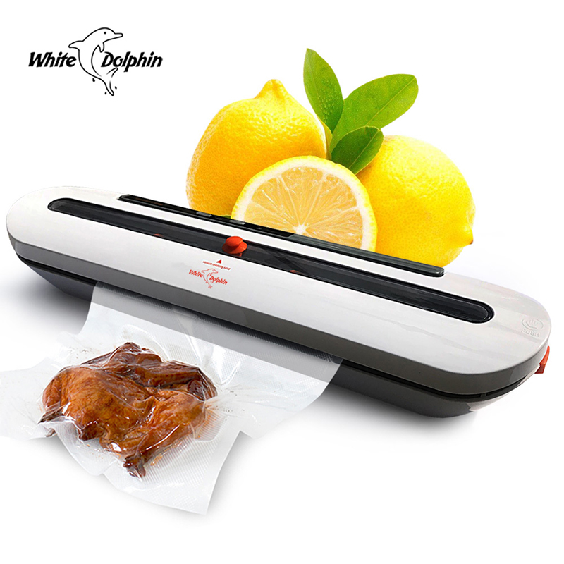 Image 2 - Household Food Vacuum Sealer Packaging Machine With 10pcs Bags Free 220V 110V Automatic Commercial Best Vacuum Food Sealer MiniVacuum Food Sealers   - AliExpress