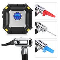 12V Portable Digital Car Tire Inflator Pump Electrical Air Compressor 100 PSI for Car Bike Ball 2018 Car Accessories
