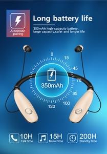 Image 2 - Wireless Earphone Neckband Bluetooth Headphons Sweatproof Fone De Ouvido Auriculares Bluetooth Inalambrico Headset for Phone