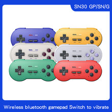 8BitDo SN30 Wireless Bluetooth Controller regenbogen farbe Unterstützung Nintendo Schalter Android MacOS Gamepad